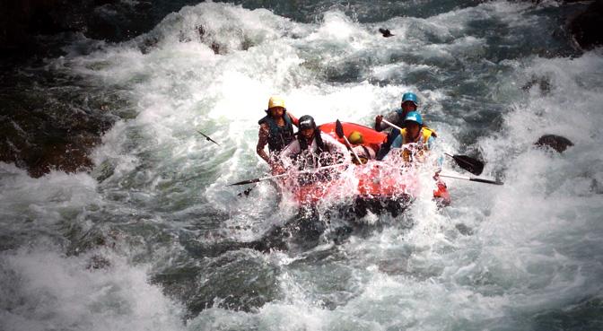 sungai untuk rafting di serayu wonosobo