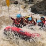 rafting di cicatih sukabumi