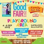 Velcro Wall dan Berbagai Wahana Permainan Seru Lainnya Hadir di Good Fair 2015