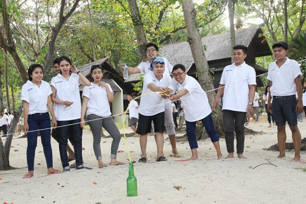 team building di pulau ayer kepulauan seribu