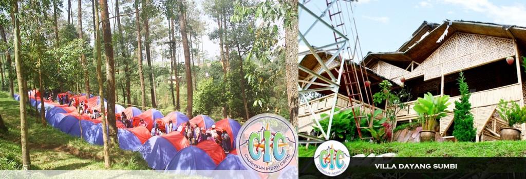 Penginapan Bernuansa Alam di Bandung Ciwangun Indah Camp