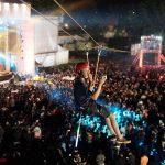 Wahana Flying Fox Parkia Tuntas Hadir di 5 Kota dalam Festival Musik Lucky Tribe